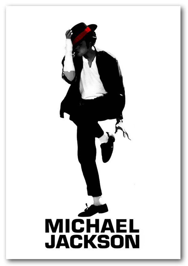 Michael Jackson Concert Poster Music 18X24  Free Shipping