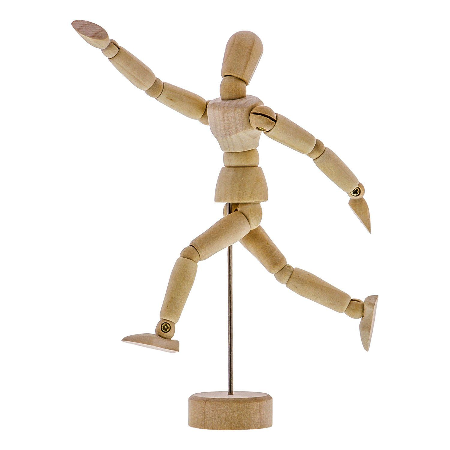 Wood Artist Drawing Manikin Articulated Mannequin with ...
