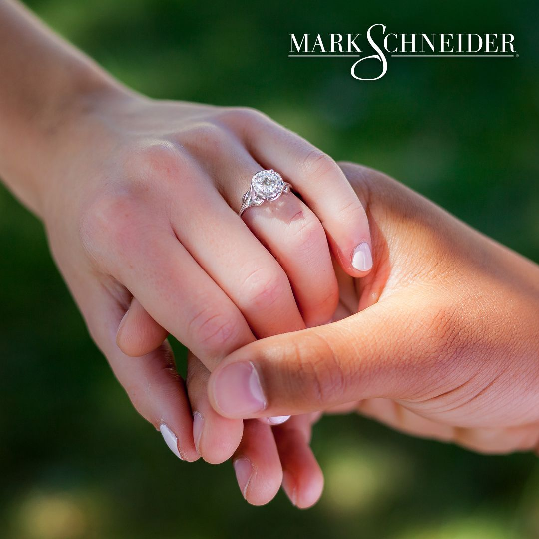 Unique love, unique engagement rings from Mark Schneider each with a ...