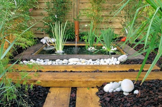 amenagement bassin jardin japonais - Bassin de jardin