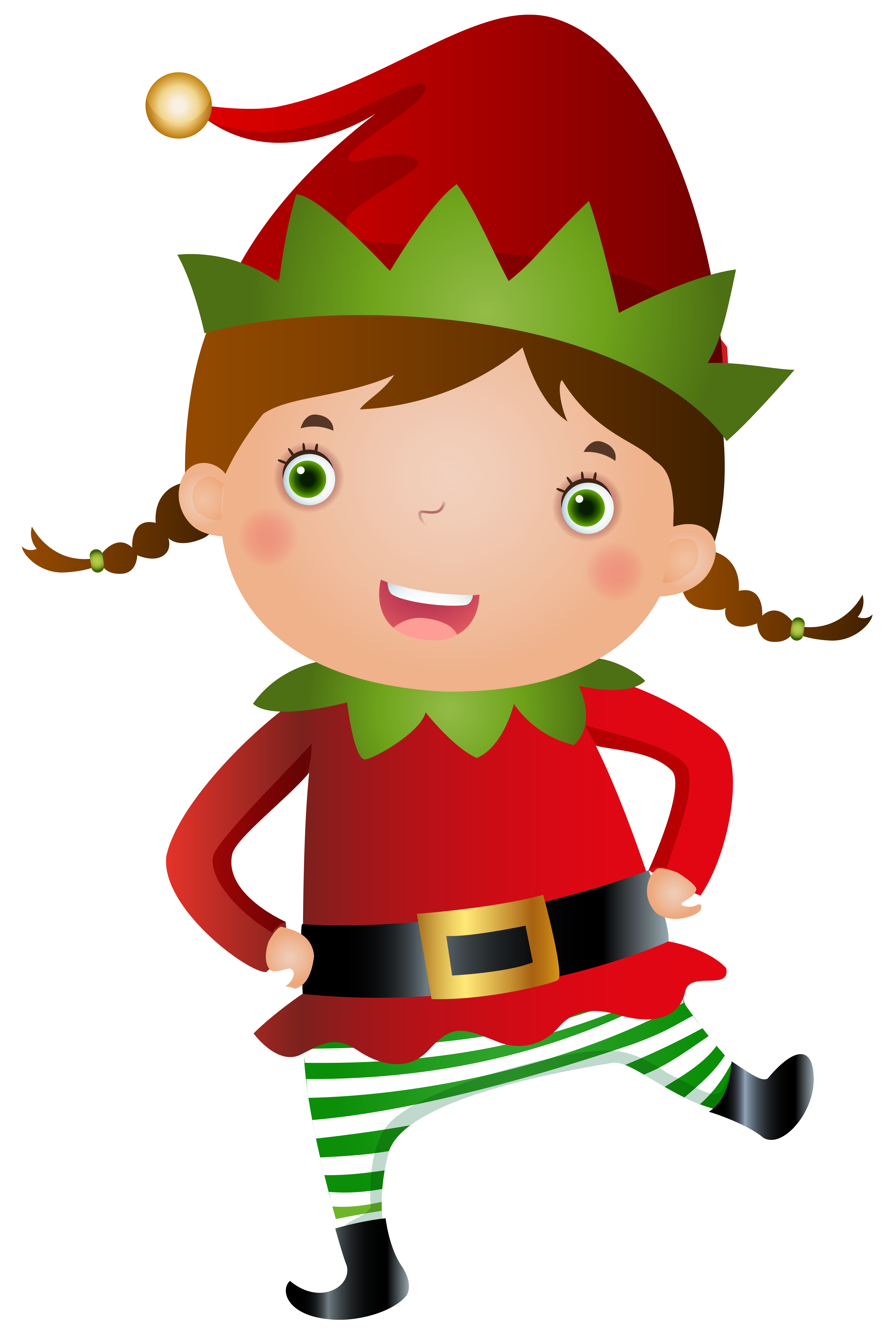 small resolution of girl elf clipart