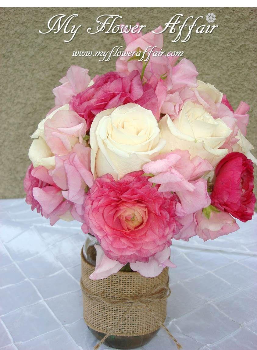Wedding flowers and custom linens by My Flower Affair. www ...