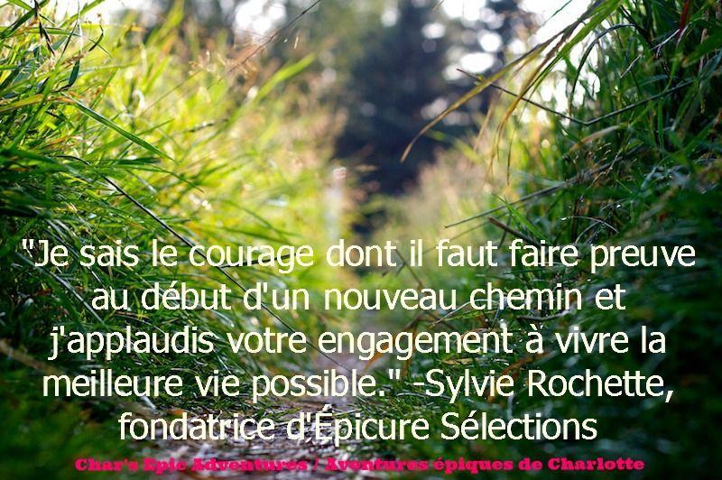 Citation De Sylvie Rochette Fondatrice D Epicure Selections
