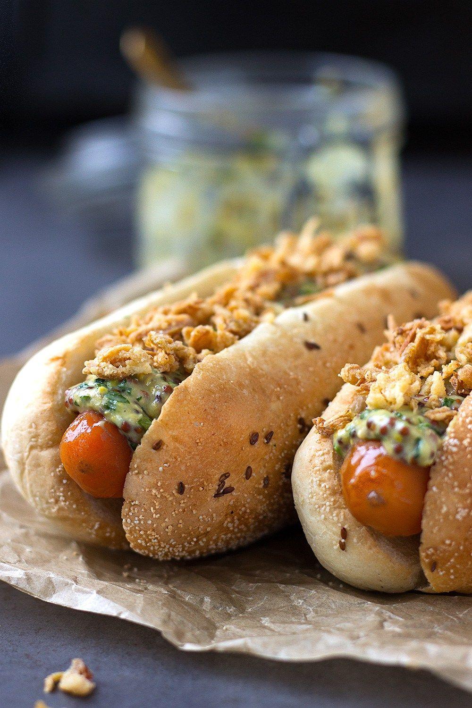 The Best Carrot Hot Dog Delicious Food Vegano Comida I Vegetariano