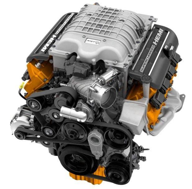 Hellcat engine. 707 Horsepower, 650 LB.-FT. Torque.