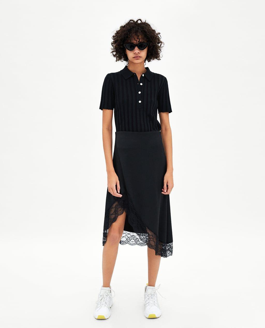 c83a6da4 Image 1 of SATIN MIDI SKIRT from Zara | Want it.. | Satin midi skirt ...