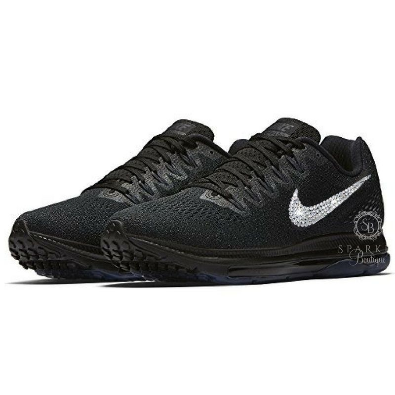 65d9a93a4c637 ... inexpensive sale womens nike zoom all out swarovski nike bling nike  bedazzled dc59d e111b ...
