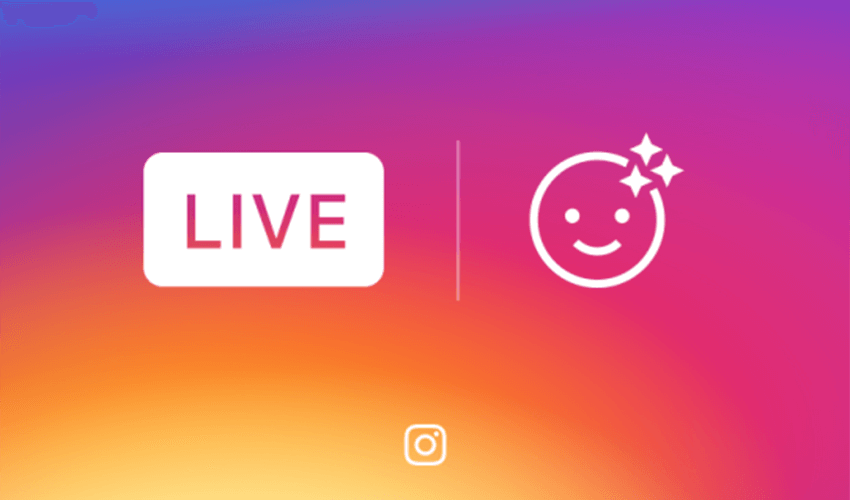 Instagram Adds Face Filters For Live Video Instagram Instagram Logo Face Icon