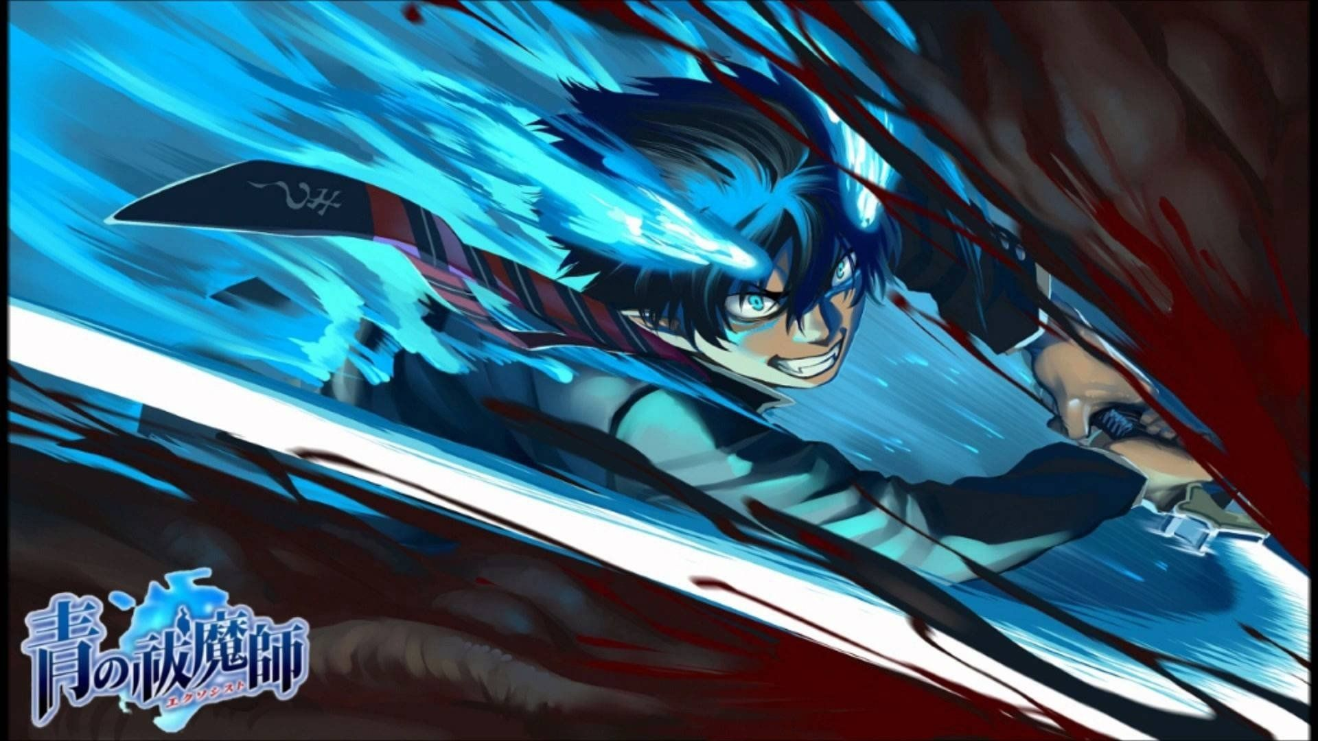 1920x1080 Rin Okumura Wallpaper Background Image View Download Comment And Rate Wallpaper Abyss Blue Exorcist Anime Blue Exorcist Rin Anime Download wallpaper anime ao no