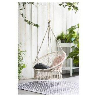 Hangstoel franjes tuinstoelen tuinmeubelen tuin karwei huis en tuin pinterest tuin - Moderne buitentuin ...