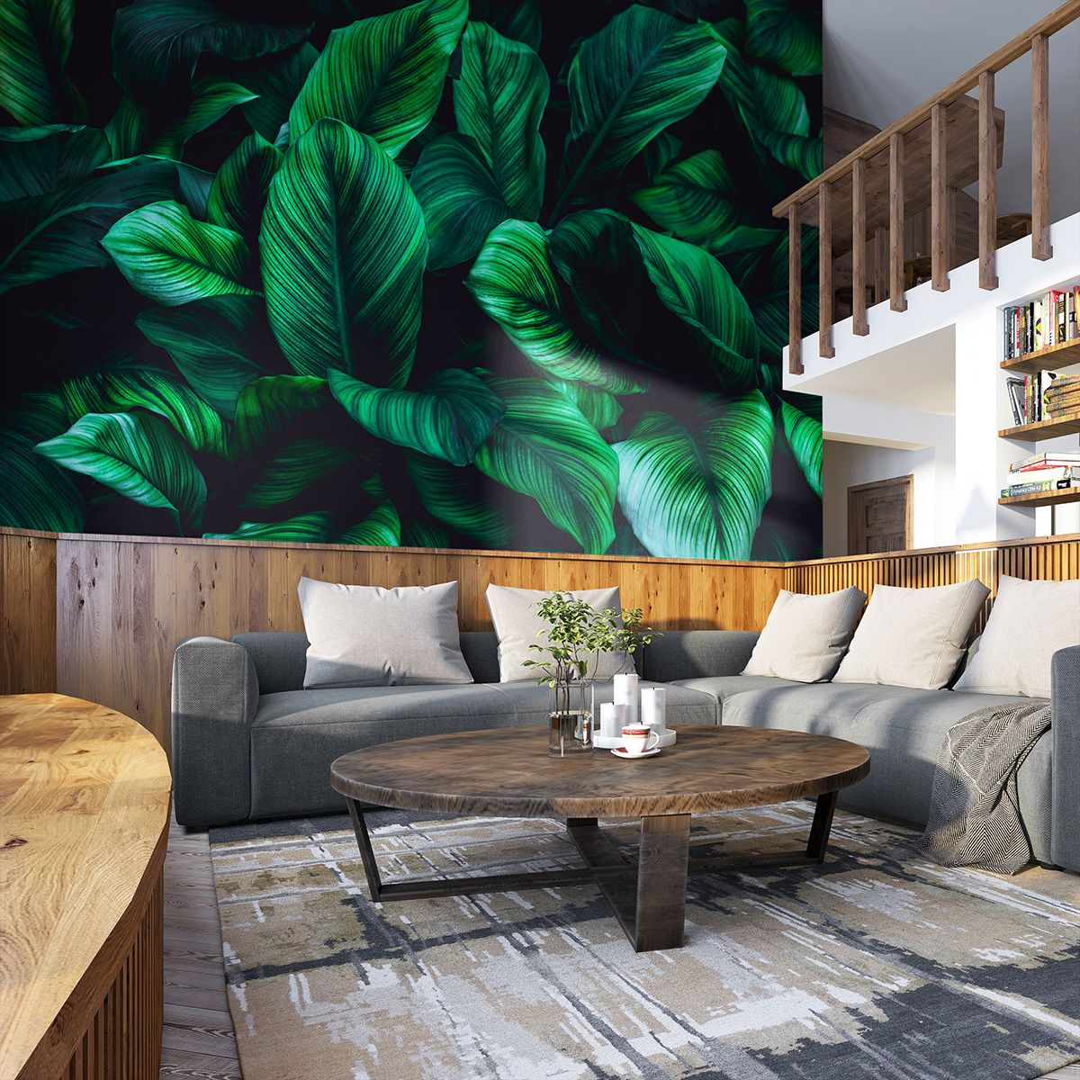 Leaves Of Spathiphyllum Cannifolium Abstract Green Texture Fototapety Redro Outdoor Sectional Sofa Green Texture Outdoor Sectional