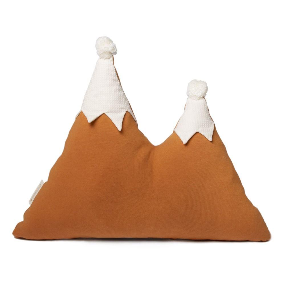 Mountains Organic Cotton Cushion 40x50 Cm Green Eva S Room In