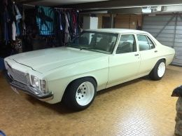 1977 Holden Kingswood 1JZ-GTE Muscle Car Build by Seary