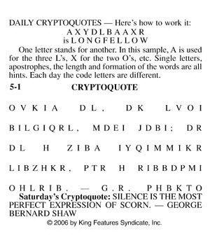 It is a photo of Critical Cryptogram Puzzles Printable