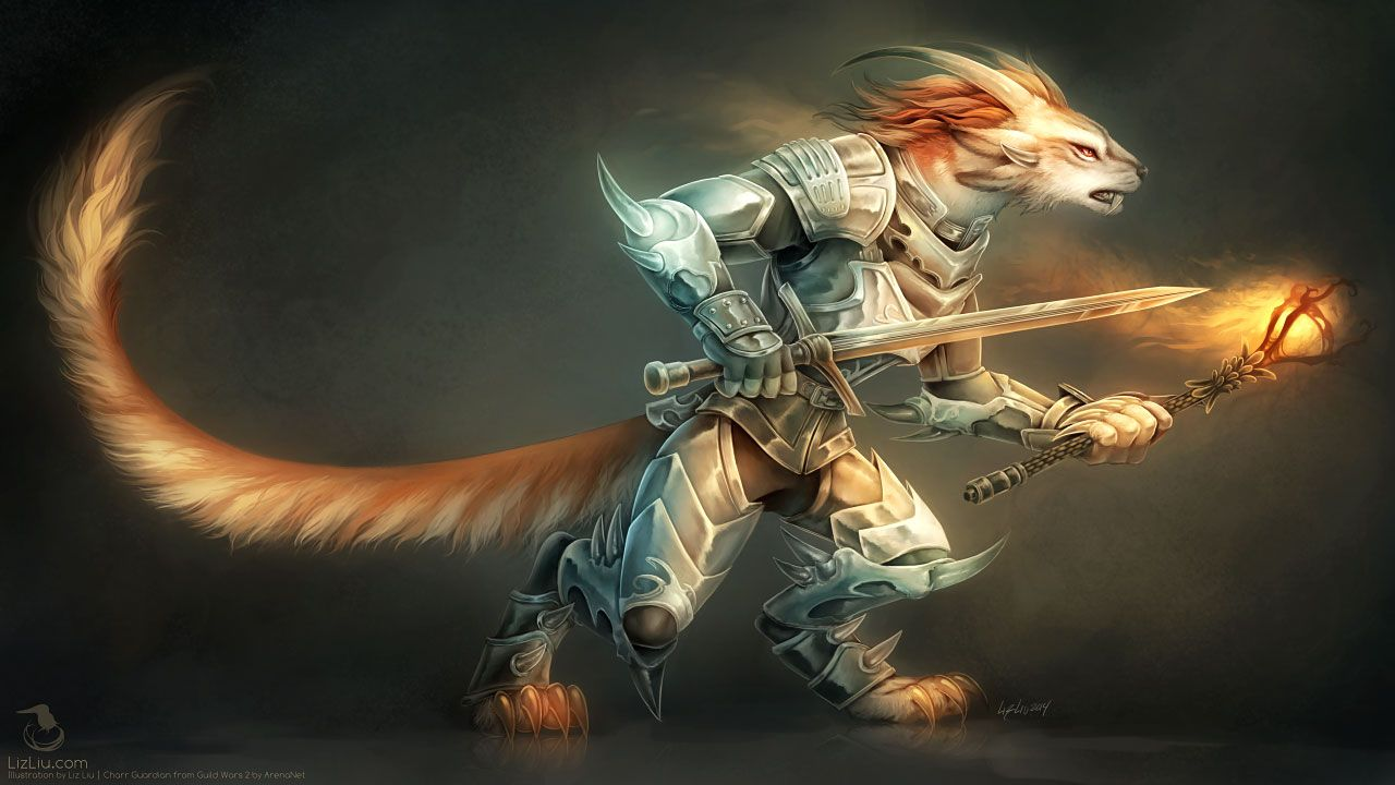 Charr Guardian by Landylachs on DeviantArt