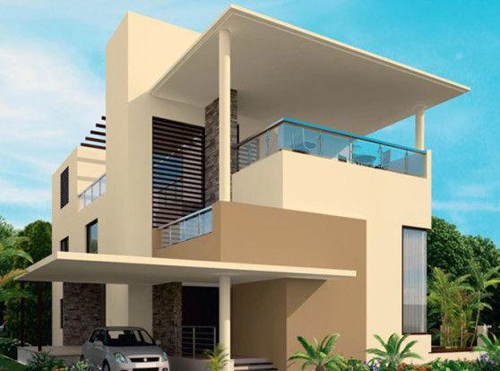Warna Cat Rumah Minimalis Bagian Exterior Arsitektur