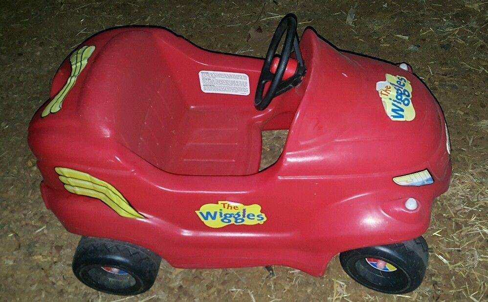 The Wiggles Big Red Car Little Tikes Large Ride On Toy