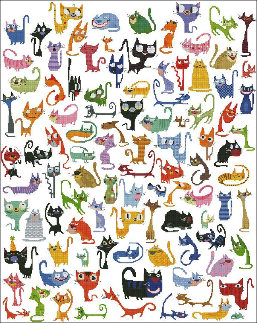 авантюрин головоломка с картинками кошек жидкие камни ногтях