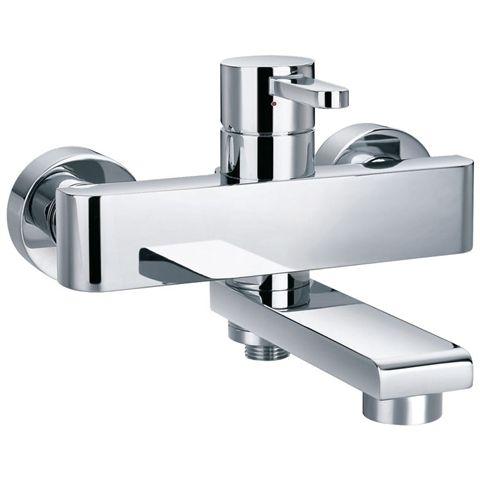 Amp Deck Mounted Bath Fillers Zero Wall Shower Mixer Tap Taps Pinterest