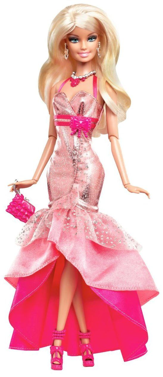 BARBIE FASHIONISTAS IN THE SPOTLIGHT GOWN DOLL - PINK | Barbie ...
