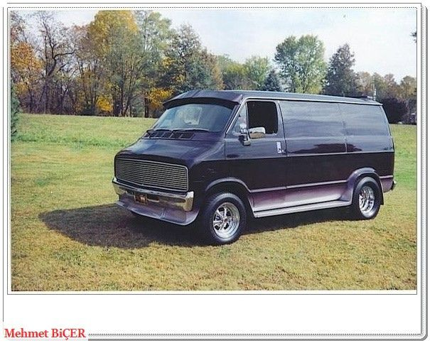 1976 Dodge Ram Van Custom Vans Gmc Vans Cool Vans