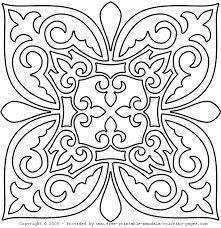 Mandalas lindas e harmônicas para colorir