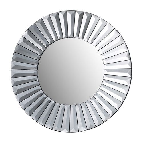 Robeson Mirror in Silver