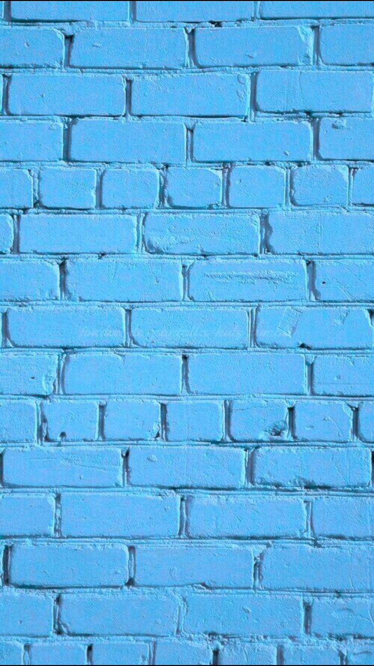 Blue Brick. iPhone wallpaper | Random Wallpaper | Pinterest ... for Background Pattern Tumblr Blue  555kxo