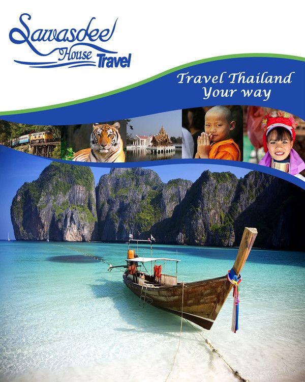 Thailand Travel Brochure By Glen Peter Thinnongbua Strothard Via