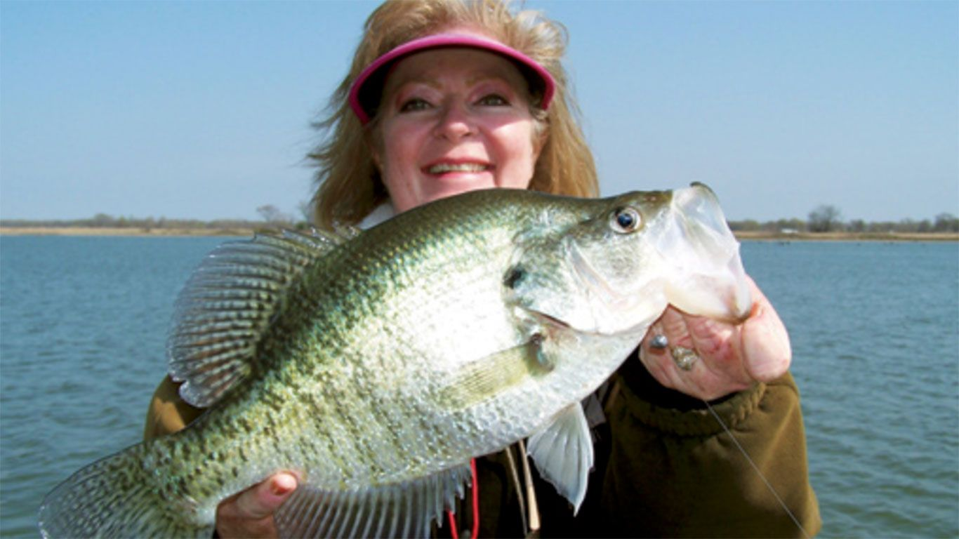 When is crappie season in texas