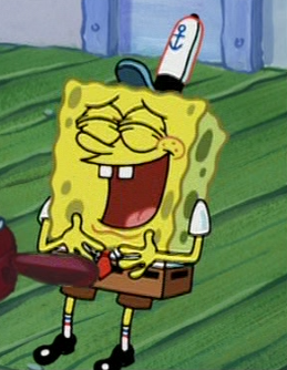 Laugh Lol GIF by SpongeBob SquarePants - Find & Share on GIPHY