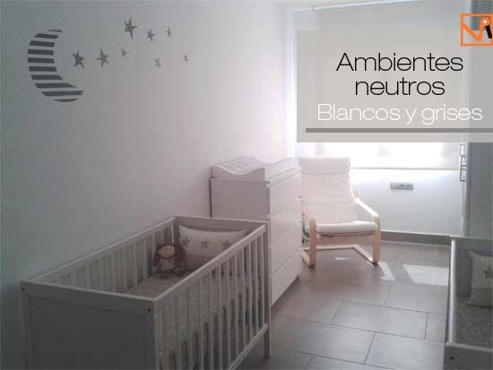 habitacion habitacion bebe gris y rosa estrella tus paredes con estos originales vinilos de vinilvip