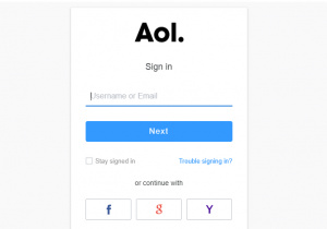Aol Mail Login With Images Mail Login Aol Mail Aol Email