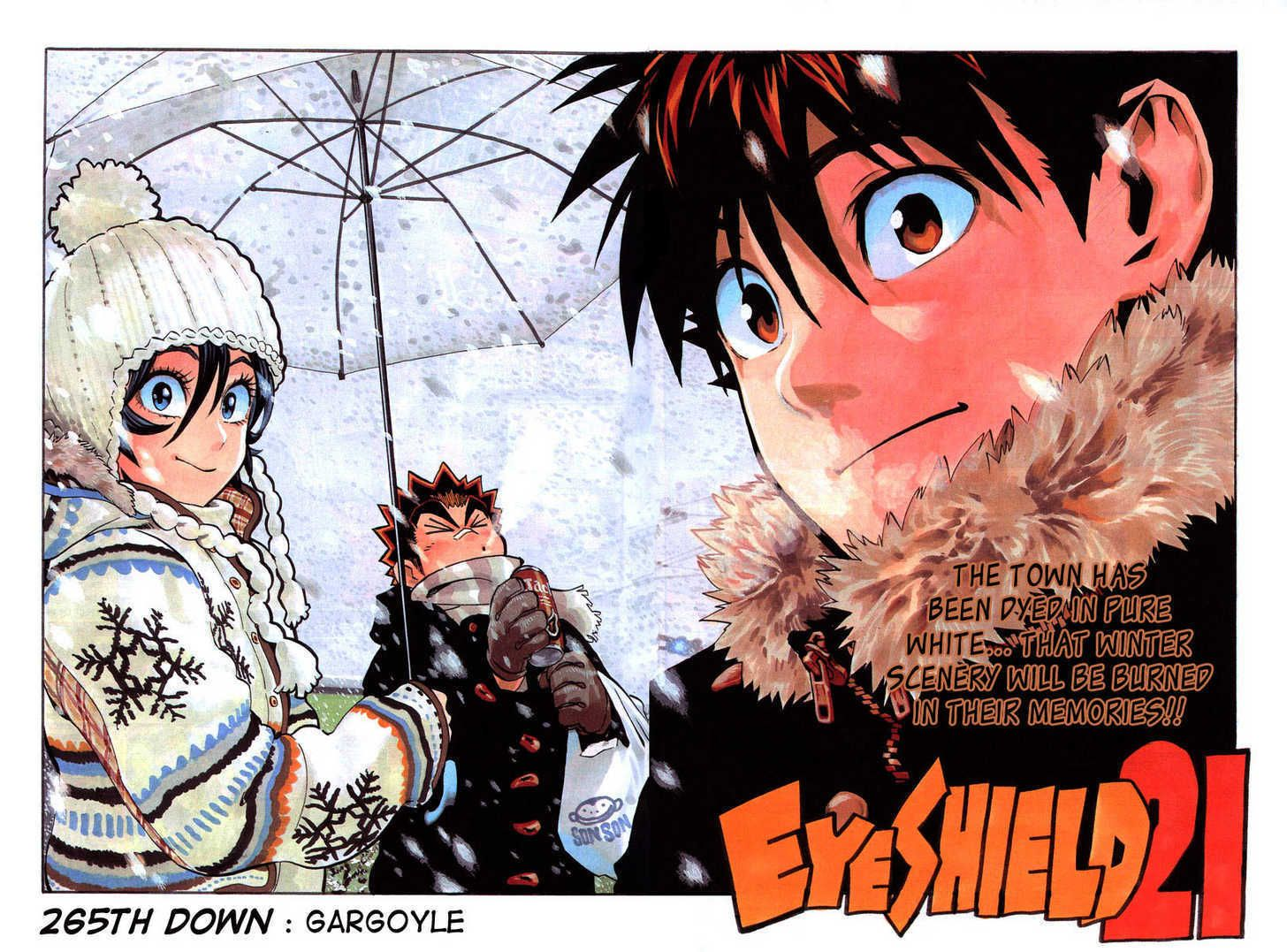 Eyeshield 21 Chapter 265 Read Eyeshield 21 Chapter 265