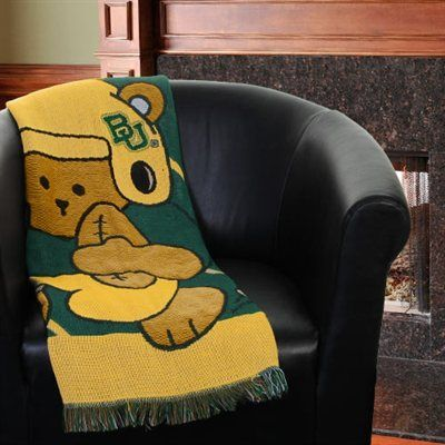 Baylor Bears 40'' X 40'' Fullback Baby Throw Blanket Baylor Proud Enchanting Baylor Throw Blanket