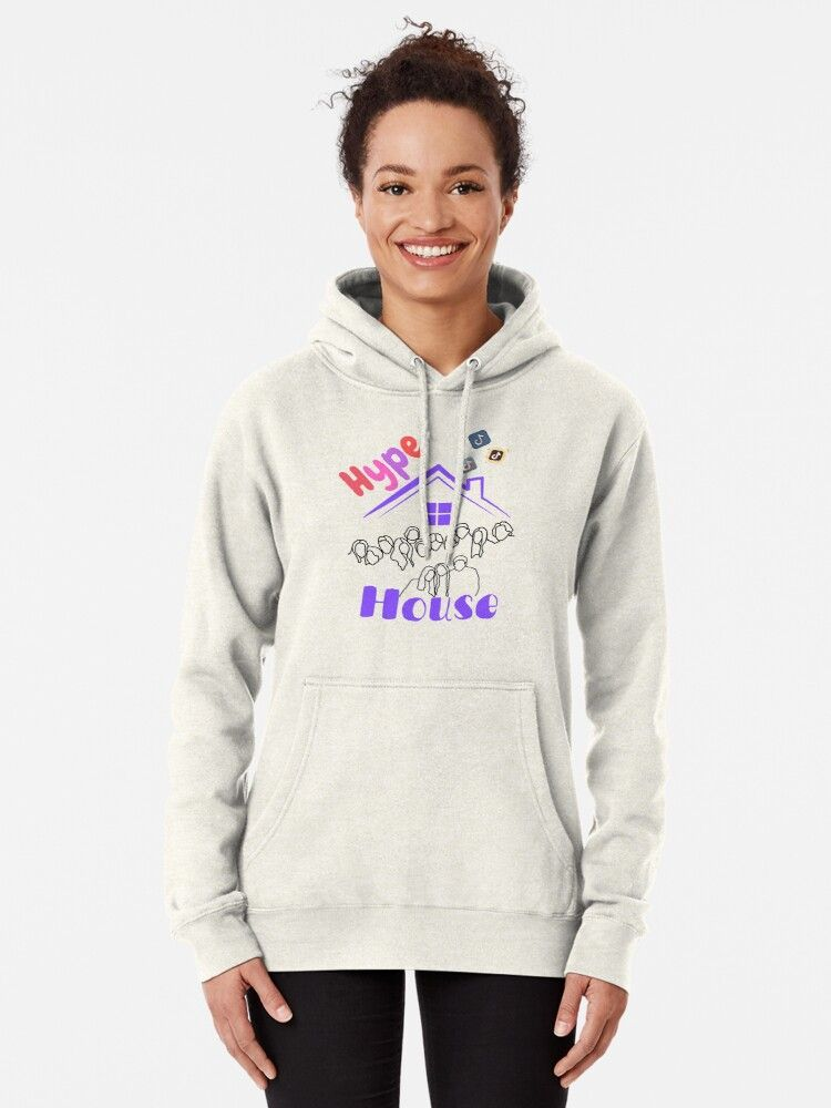 Hype House Tiktok Design Hoodie Pullover By Kira Collins Pullover Hoodie Hoodies Pullover
