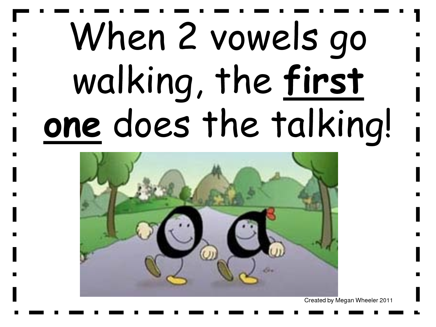 2 Vowel Anchor Chart