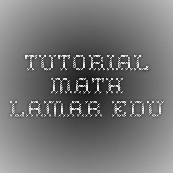 Pauls Online Math Notes Math Notes Online Math Math Math problem solver (all calculators). pinterest