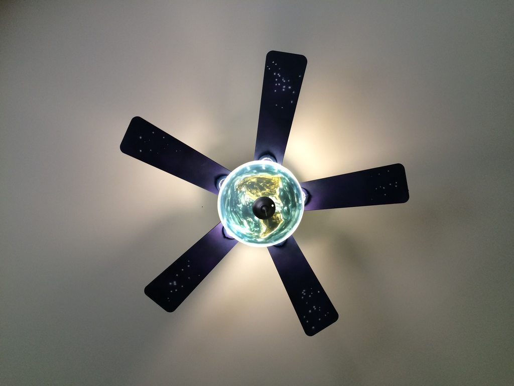 Henry S Universe Ceiling Fan Diy Ceiling Ceiling Fan Blades