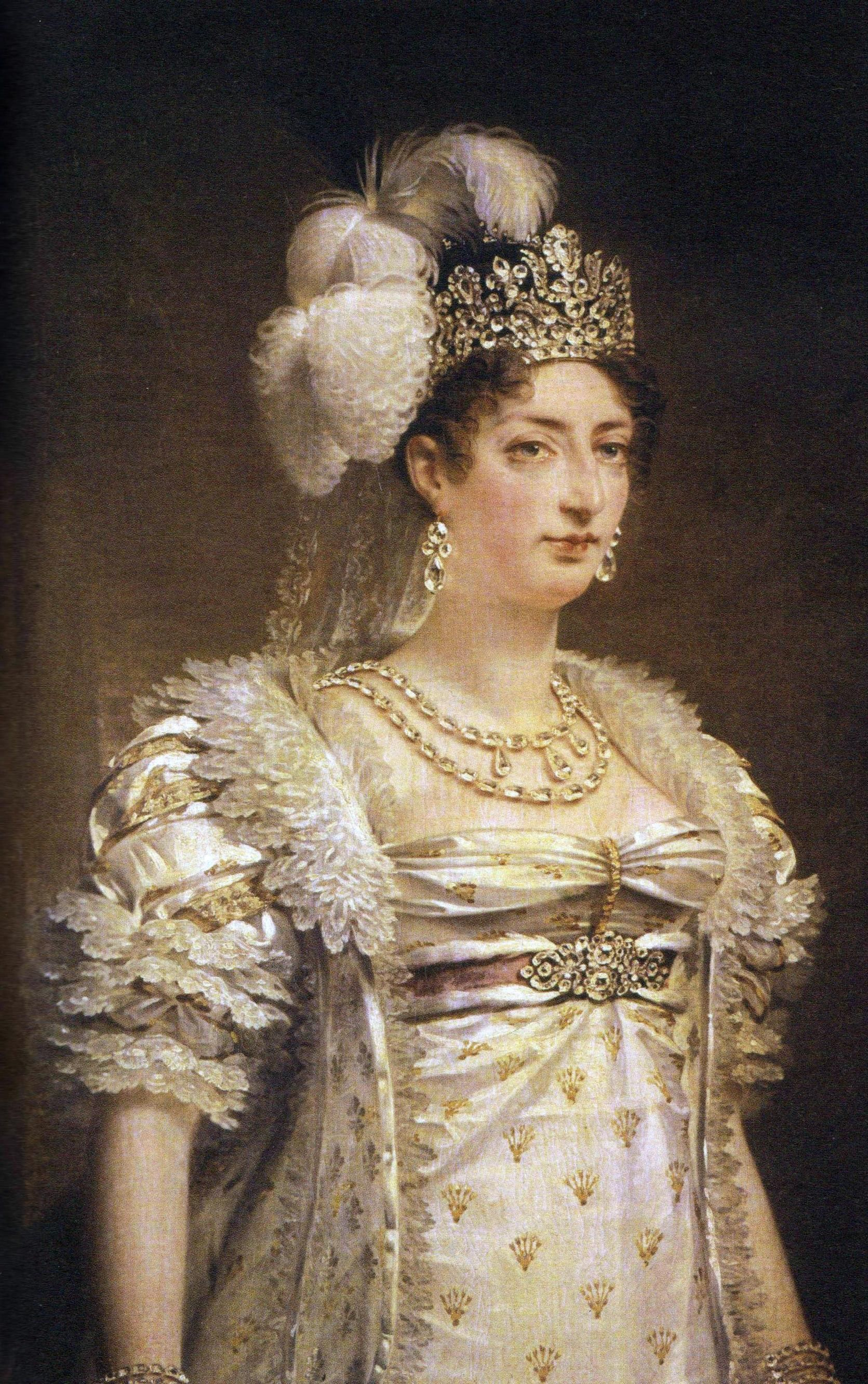 Marie-Thérèse d\'Angoulême, fille de Louis XVI et de marie ...