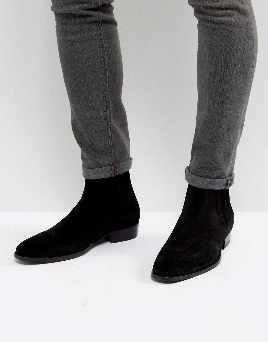 9de2ec0ad58 ALLSAINTS LEATHER CHELSEA BOOT - BLACK. #allsaints #shoes ...