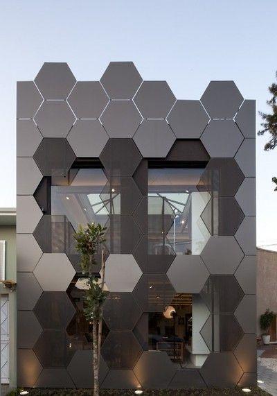 Beehive facade #arquitectonico