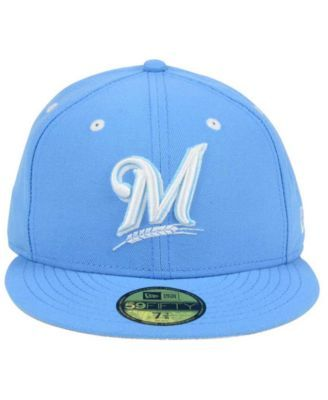 quality design 40395 ee46b New Era Milwaukee Brewers Pantone Collection 59FIFTY Cap - Blue 7 3 8