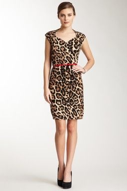 224174f5e5f Animal Print Dress.. Very sexy but chic.