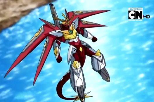 Aeroblitz Dragonoid Anime