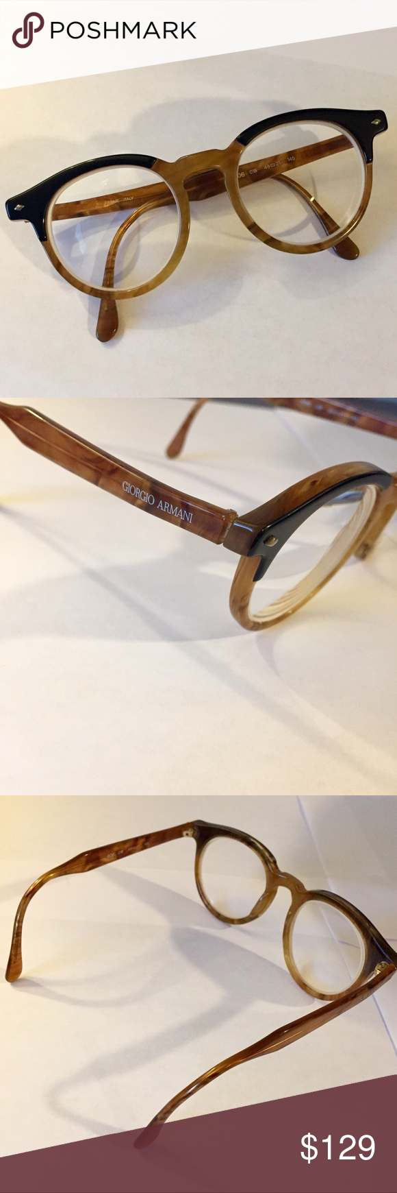 Huge Designer Sale! Giorgio Armani Eyewear Frames NWT | Pinterest ...