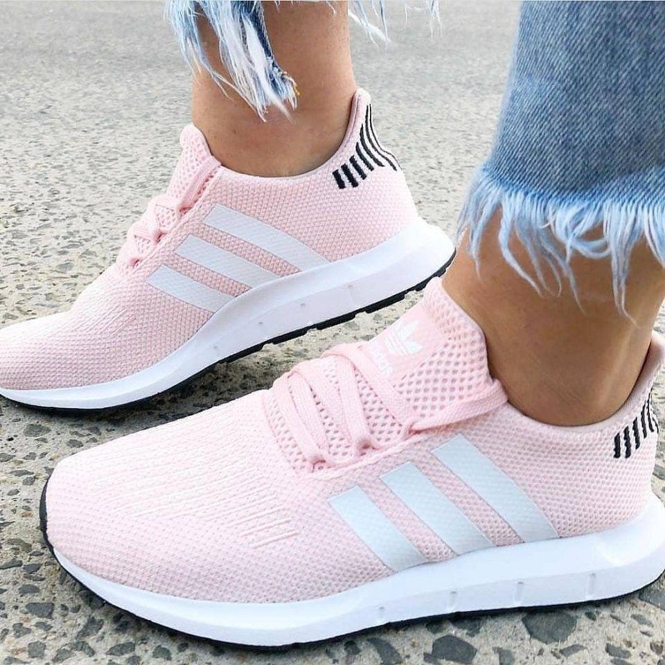 zapatos adidas originales de mujer rosas
