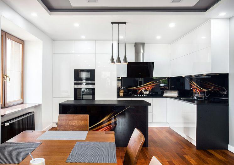 Studio Meble King Chelm Wyjatkowa Czarno Biala Kuchnia Furniture Home Home Decor