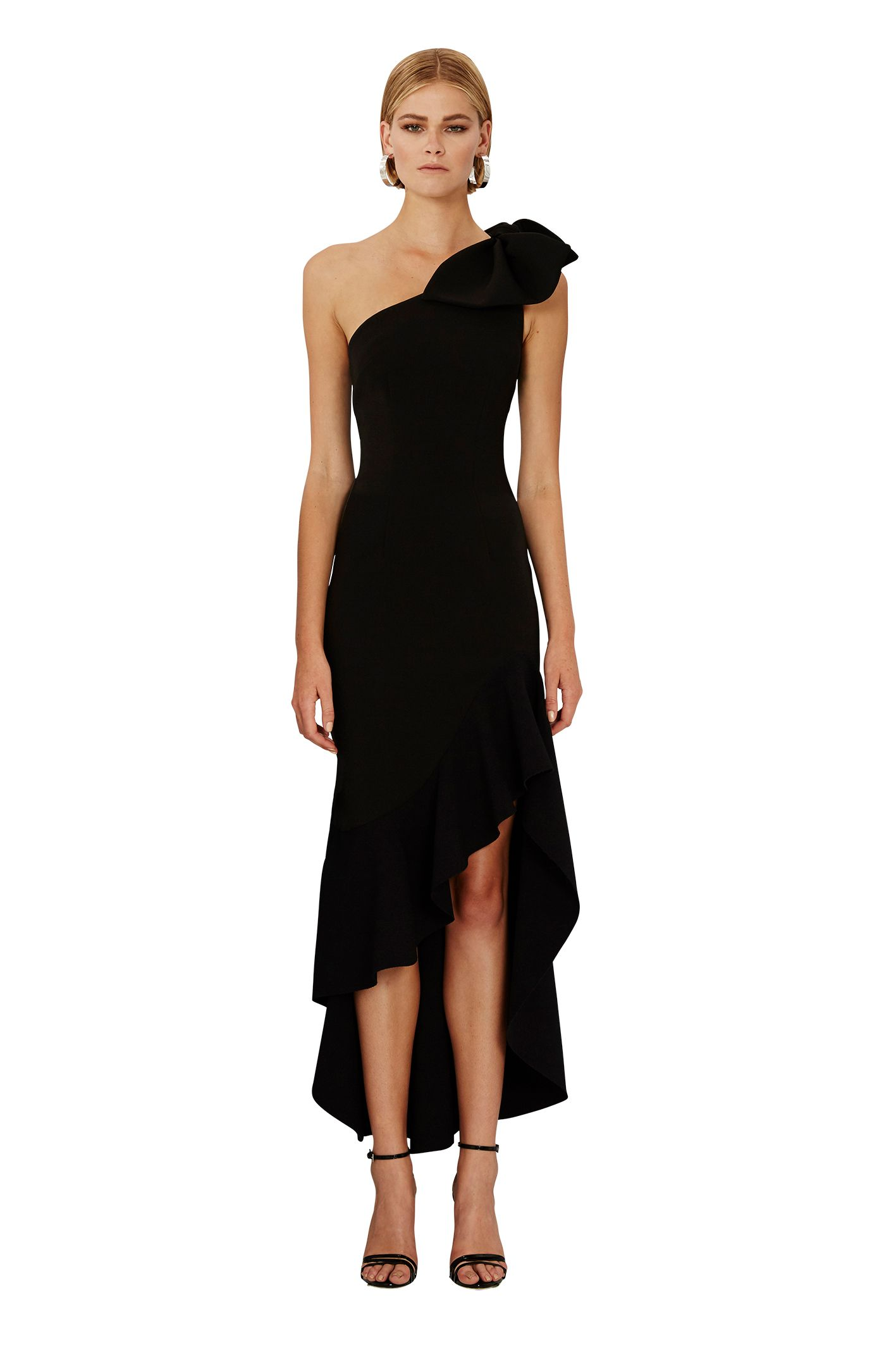 By johnny tie shoulder wave gown preorder