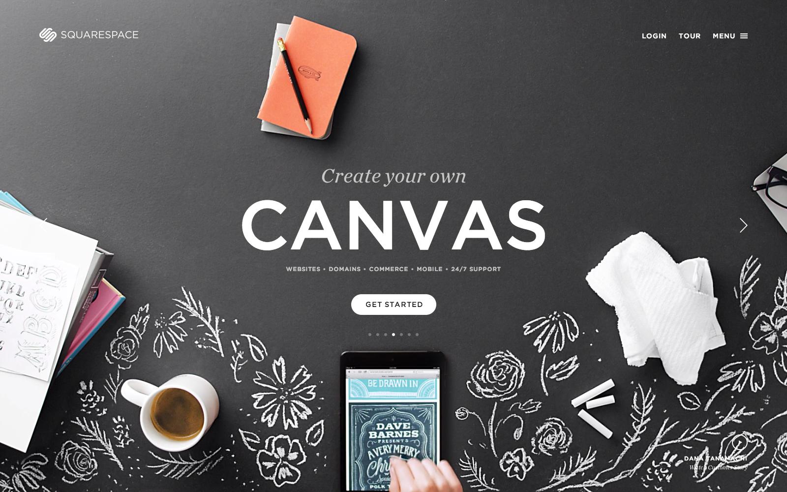 Create Your Own Canvas Squarespace Squarespace Pinterest Blog